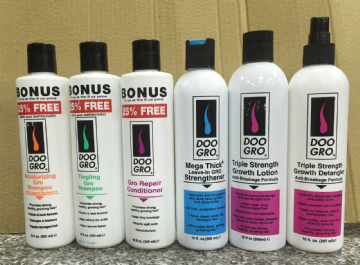 DOO GRO HAIR GROWTH AND STRENGTHENING PRODUCTS